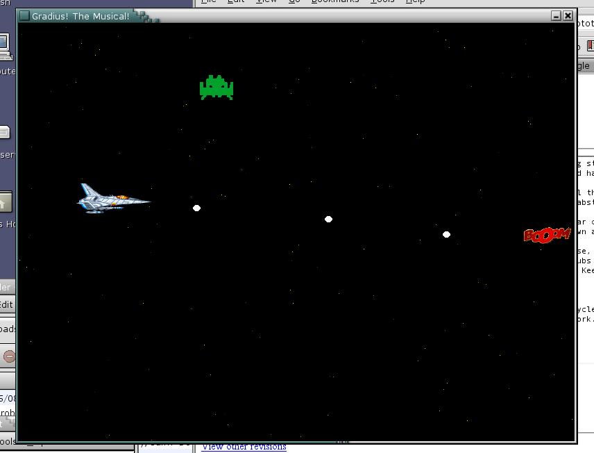 gradius-wannabe screenshot
