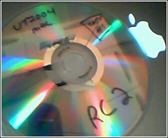 (Picture of RC2 disc.)
