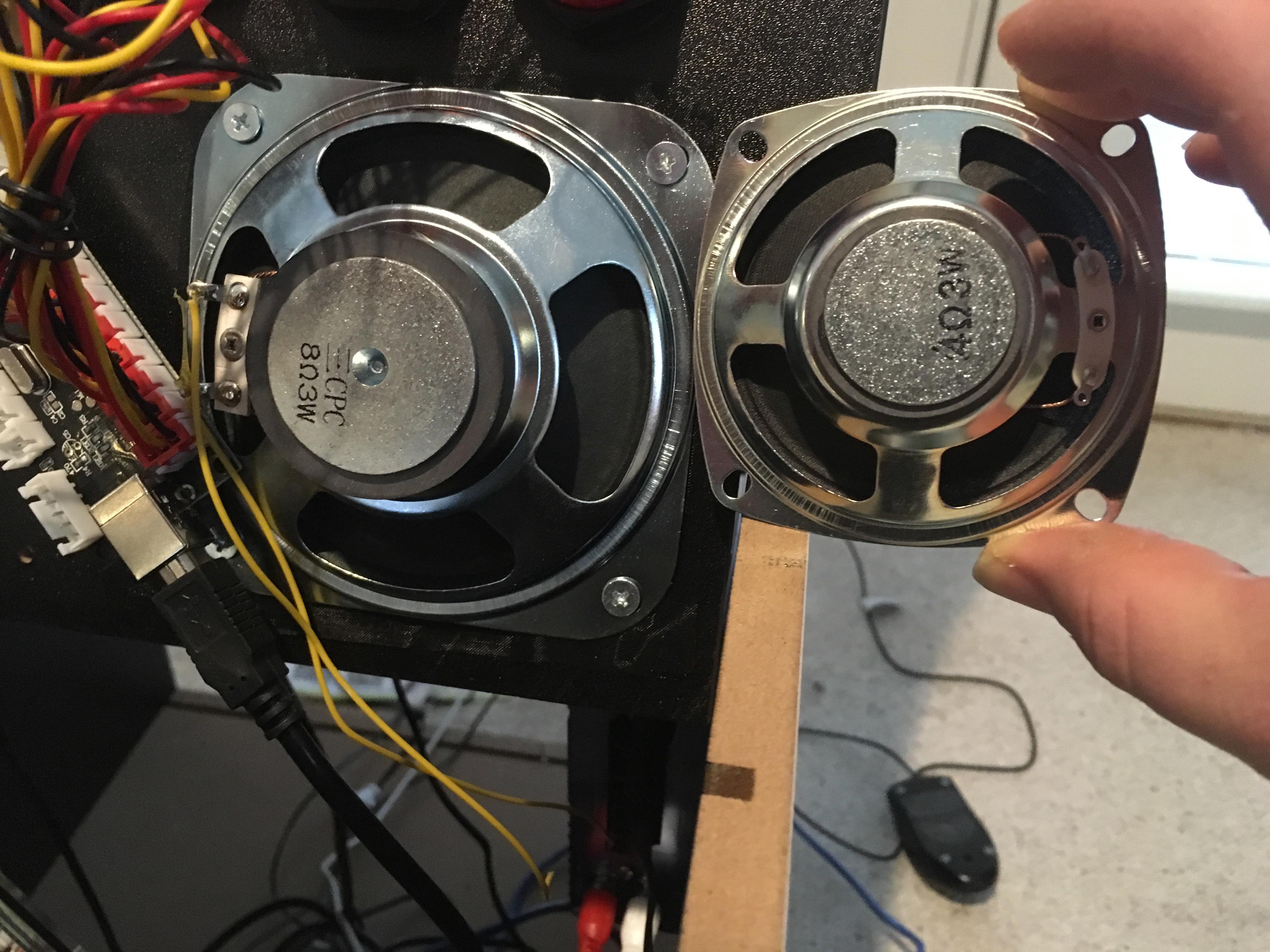 speaker comparison