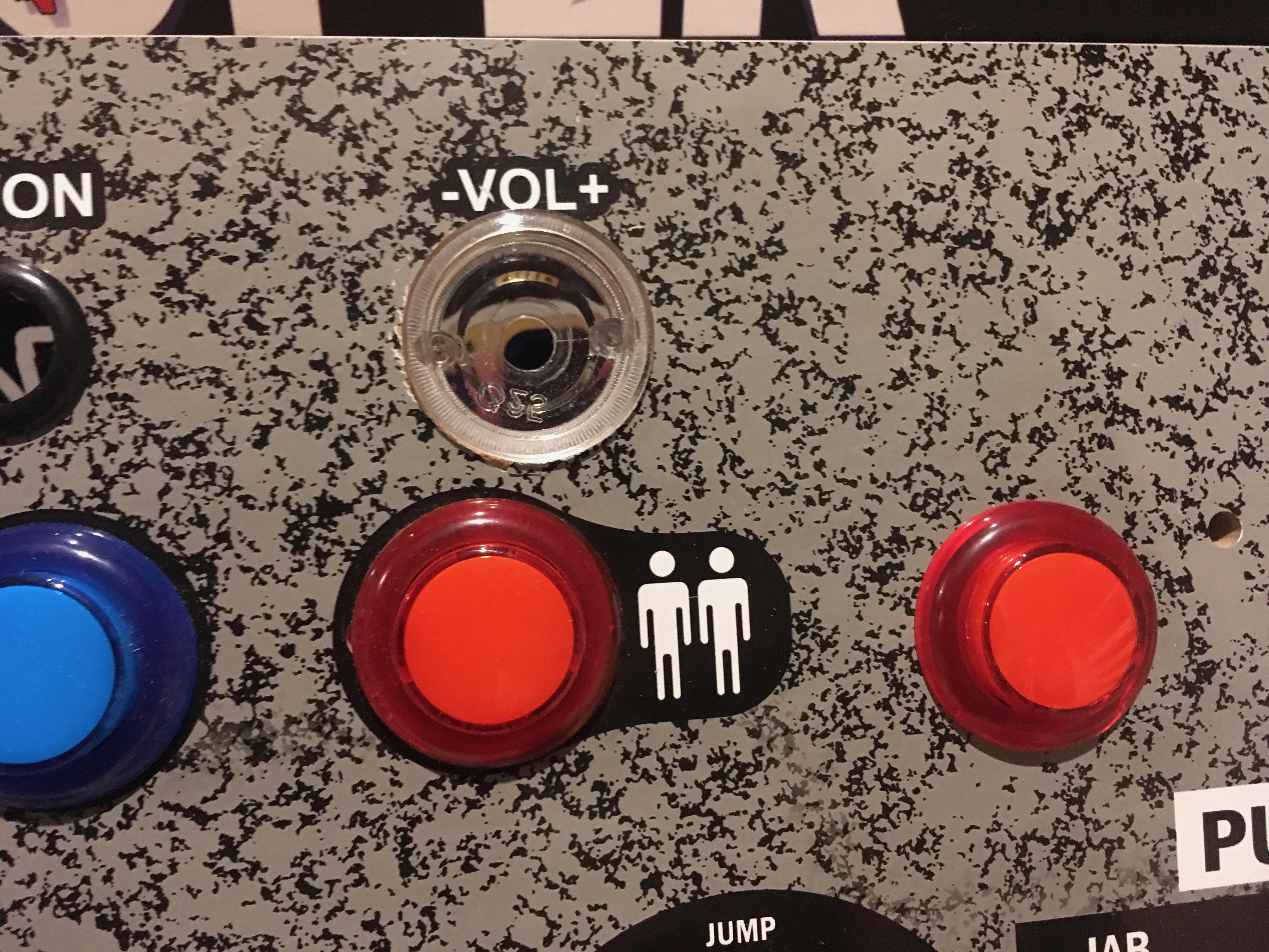 knob casing installed.