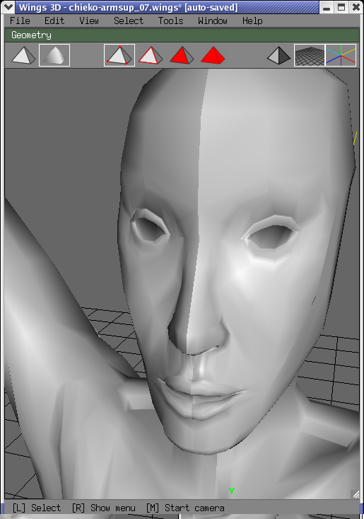 Wings 3D Tutorial 2